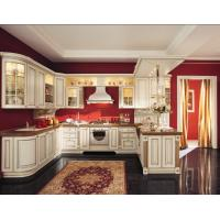 Buy cheap White Golden kitchen door panel,Raised kitchen cabinet,kitchen cabinets,oak kitchen cabinet,cupboard wanted from China from wholesalers