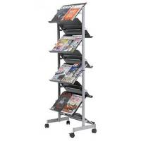 China Metal 4 Sided grid rack with faceouts on sale