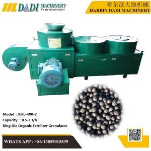 Quality KHL-400-2 Bio organic fertilizer uniform ball pellet making machine for sale