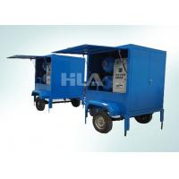 China Fully Automatic Vacuum Transformer Mobile Oil Purifier For Outdoor Work on sale