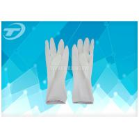 China Latex Surgical Gloves Powder Free Sterilized By Gamma Radiation on sale