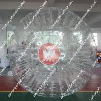 China Colorful Adult Pvc Inflatable Bubble Soccer Ball For Football Games on sale