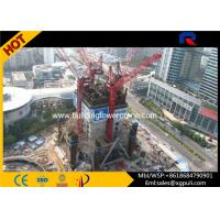 China Mini Hammer Head Tower Crane Climbing Height 65M For Inside Building on sale