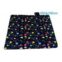 Quality Portable Water Repellent Picnic Blanket , Moisture Proof Folding Picnic Mat for sale