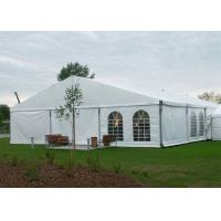 China Double PVC Coat Clear Span Structure Tent , Large Outdoor Tent For 500-1000 People on sale