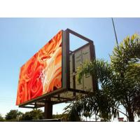 Quality Steel / Iron Material Outdoor Advertising LED Display Billboard 1R1G1B With Back Access for sale