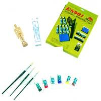 Quality Fine Art Painting Set Art Kits For Teenager Manikin Canvas Panel Included for sale