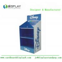 Best 3 Tiers Cardboard Display Rack , Shop Retail Product Promotional Display Stands wholesale