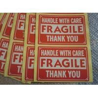 """Quality HANDLE WITH CARE,FRAGILE,THANK YOU,3""""x2"""", Shipping Label/Sticker, for sale"""