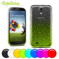 Buy cheap Raindrop design Samsung Cell phone Covers for Galaxy S4 protective back case from wholesalers