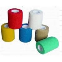 China Natural latex non - sticky flexible cohesive medical bandage for Splint fixation on sale