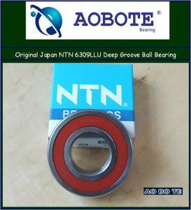 Quality Japan NTN 6309LLU NTN Ball Bearings ABEC 5 , Deep Groove Ball Bearing for sale