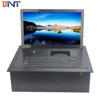Quality aluminum alloy material supply keyboard electric flip up monitor BF7-15.6A for sale