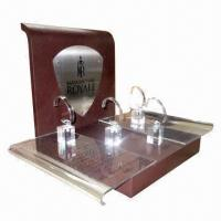 Quality Watch Display Stand, Covered with Leather  for sale