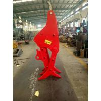 Quality Wood Grab Steel Stone Grapple Attachment For Excavator Versatile Applications for sale