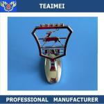 Best Metal Custom Car Emblem Badge , Car Gaz Hood Stand Up Front Emblem wholesale
