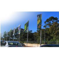 China outdoor Flag banner printing, street flag banner on sale