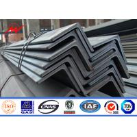 Best Hot Dip Galvanized 8ft-19.6ft Steel Angle Channel For Electric Power Tower Construction wholesale