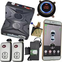 China GSM & GPS Smartphone Car Alarm Security Two Way Cell Phone Car Starter on sale