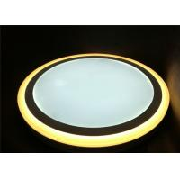 Buy cheap Surface mounted 36W+36W double color round LED panel light Φ390mm / H40mm from wholesalers