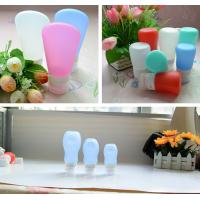 Best leak proof squeezable, BPA free, Food Grade Protable Silicone Travel Bottle from Hebei Shengxiang wholesale