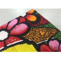 China Red Dyed Indonesian Batik Fabric Wax Cloth Painting For Holiday Hotel Staff Uniform on sale