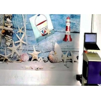 Quality RIP Software UV Painting Inkjet Wall Printer 720X1440dpi Advertising for sale