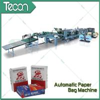 China Professional 2-5 Ply of Kraft Paper Bag Making Machines With Big Production Plant on sale