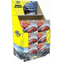 Best Floor Corrugated Cardboard Counter Displays Book And Magazine Shelves With Printed wholesale