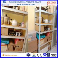 China Q235 Steel Cost-Effective Slotted Angle Shelving / Light Duty Shelf on sale