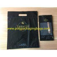 Quality Black Oversized Cigar Humidor Bags Resealable Ziplock To Open And Close for sale