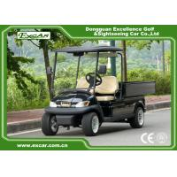 Quality 2 Seater Electric Golf Utility Carts Electric Hotel Buggy Car with Aluminium Cargo for sale