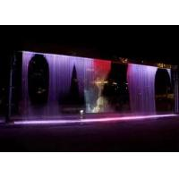 Quality Wall Decorative Digital Water Curtain Fountain For Hotel Lobby Office And Home for sale