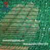 Buy cheap waterproof sun shading nets 100% HDPE green 40% shade cloth sail elastic mesh from wholesalers
