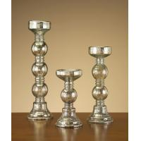 Quality 2012 new design colored crystal candle holder for sale