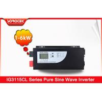 Buy cheap PF 0.9-1.0 Pure Sine Wave 230VAC Solar Hybrid Inverters 3000W with LCD Display from wholesalers