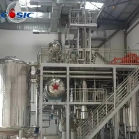 China 800m2 25000L/H 5000L×3 CBD Crystal Oil Extraction Machine for sale