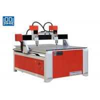 Quality Double Spindle Head Advertising CNC Router Equipment With Square Guide Rail for sale