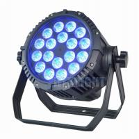 Buy cheap Outside 18X10W LED Dmx Par Can Lights / RGBW Stage Light Waterproof Big Power from wholesalers
