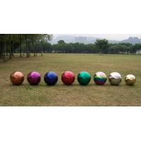 China Colorful Stainless Steel Gazing Ball on sale