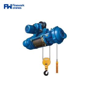 Quality Double speed 2000kg 5000kg MD1 Electric Wire Rope Hoist for sale