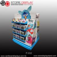 Quality Large corrugated cardboard free standing display unit (FSDU) for Children toys for sale