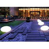 Quality Outdoor Color Change Floating LED Waterproof Ball For Wedding Decoration for sale