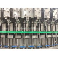 Quality 12KW Automatic Carbonated Soft Drink Filling Machine For Soda Water Production for sale