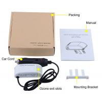 Car Micro Air Purifier Limits Ozone Output  System White Color