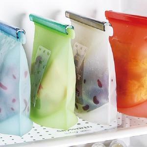 Quality Fancy reusable silicone food storage bag large food storage bag fresh food fruit vegetable storage bag for sale