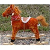 Quality Rocking Horse With Sound And Moving Mouth and Tail And Led Light Small Medium Large for sale