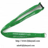 China Factory Wholesale Polyester Keychain Lanyards on sale