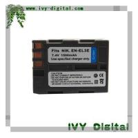 Quality Replacement For Nikon Camera Battery EN-EL3E for sale