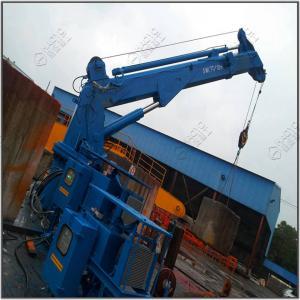 Quality Telescopic Boom Marine Pedestal Offshore Crane Companies Design for sale